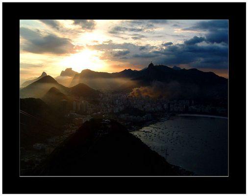 Feuer in Rio