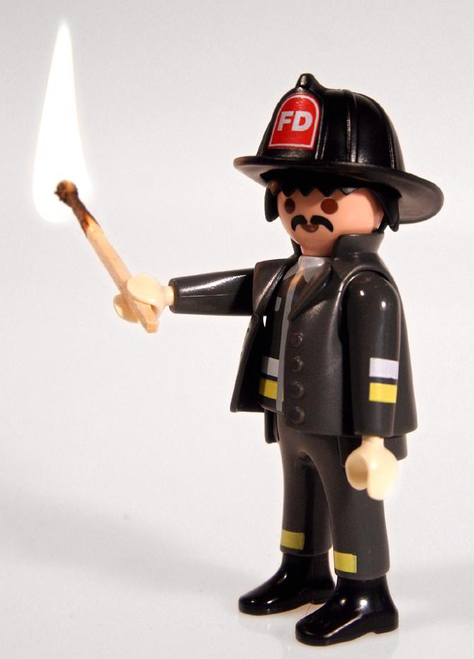 Feuer- oder Feuerwerh-Mann?