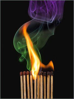 Feuer sein