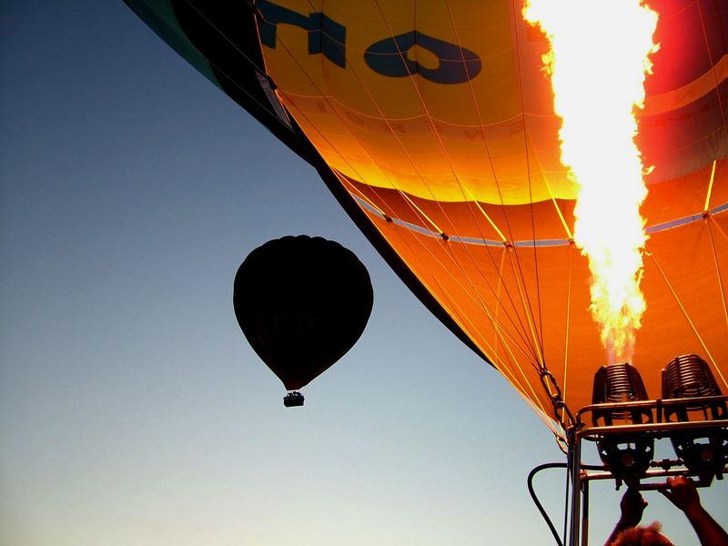 Feuer und Flamme für Ballonsport