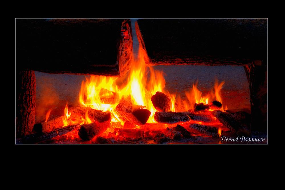 Feuer und Flamme für die Kunst ....