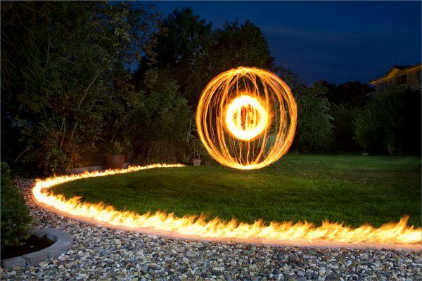 Feuer und heiß...
