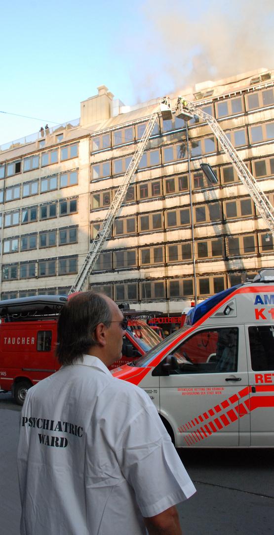 FEUERBEKÄMPFUNG in Wien