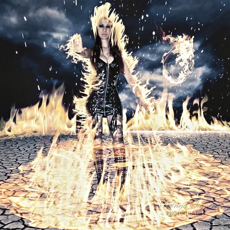 Feuerkönigin
