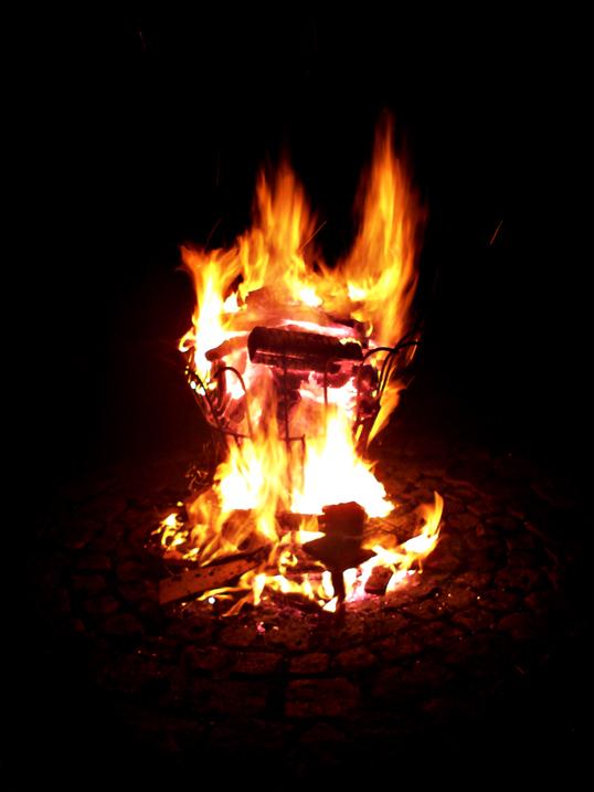 Feuerkorb ...