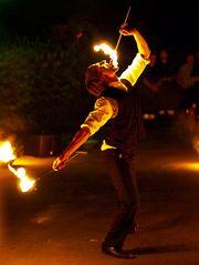 Feuerkünstler Markus Just (2)