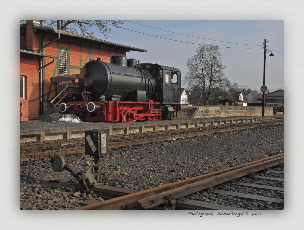 Feuerlose Dampflokomotive