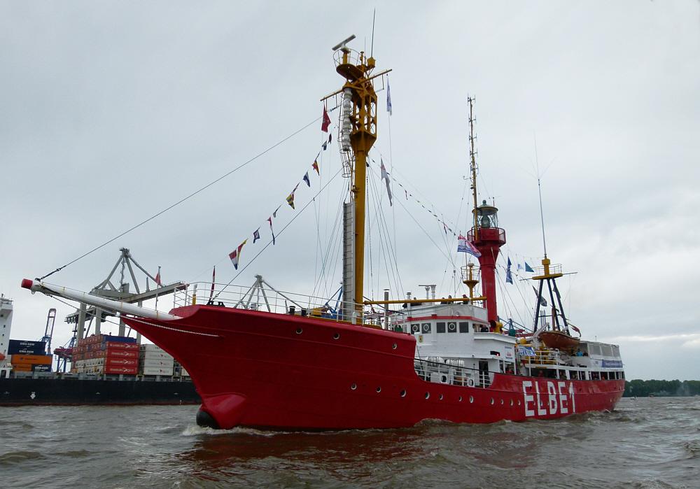 Feuerschiff  Elbe 1  -  Museumsschiff
