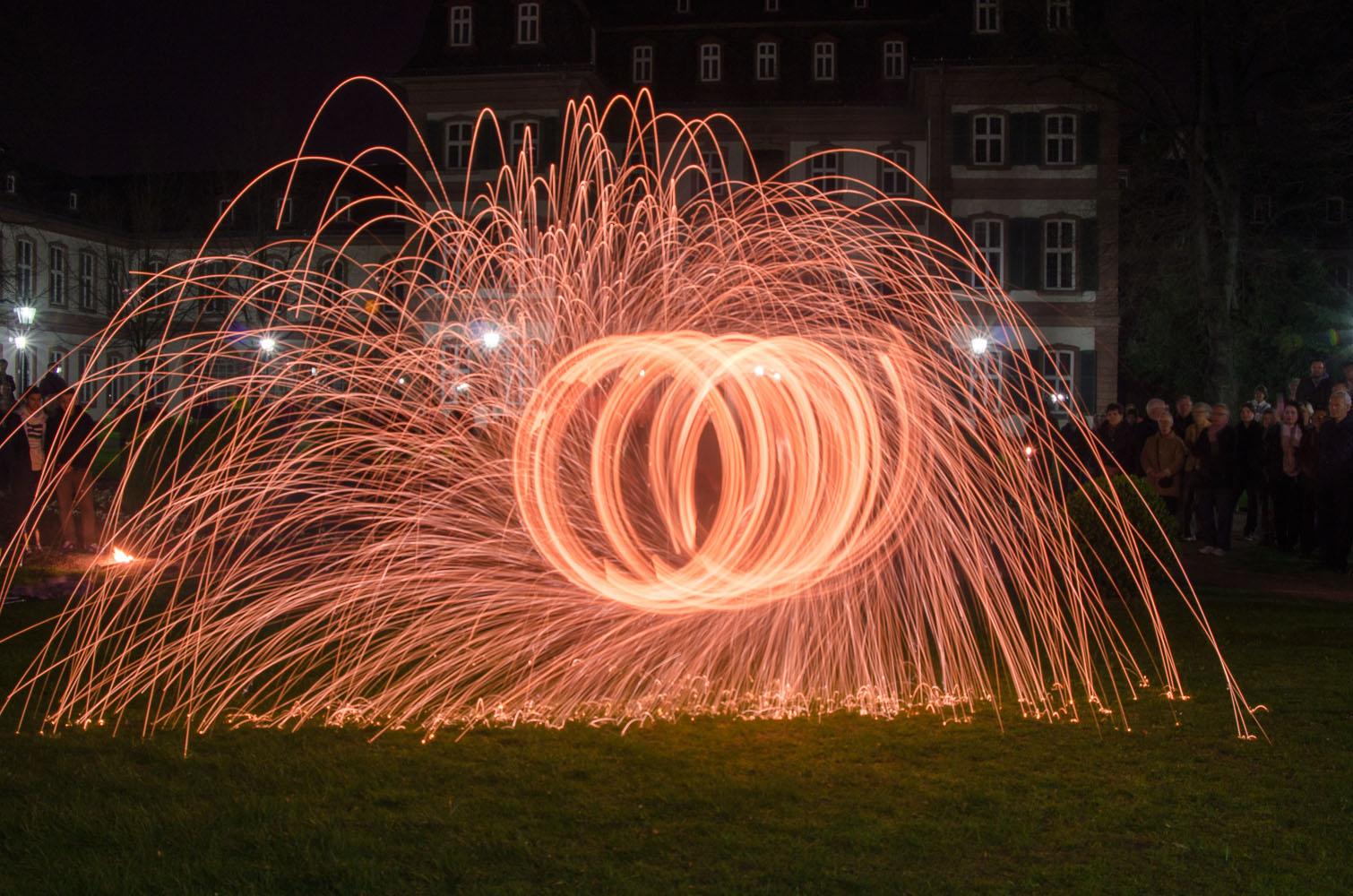 Feuershow bei der Luminale 2014 - 1