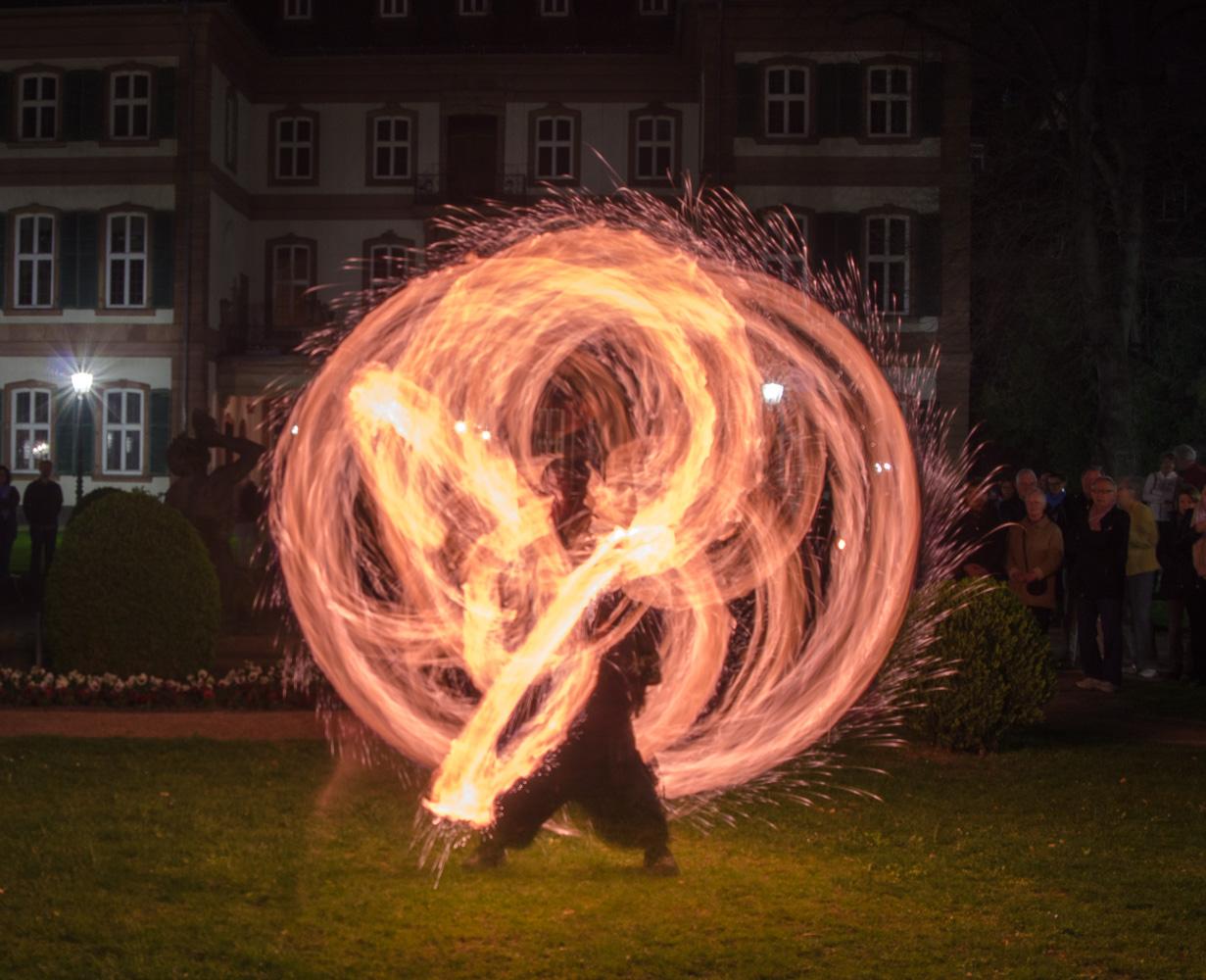 Feuershow bei der Luminale 2014 - 2