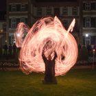 Feuershow bei der Luminale 2014 - 3