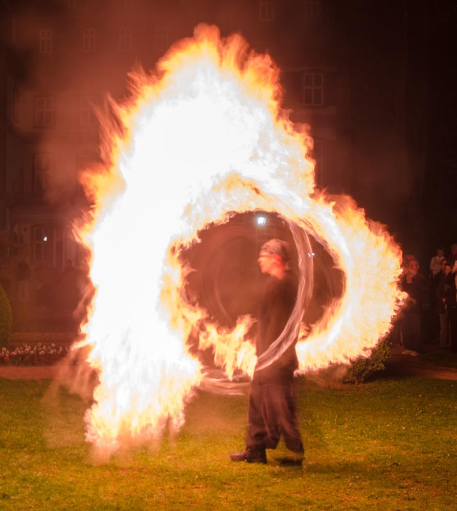Feuershow bei der Luminale 2014 - 5