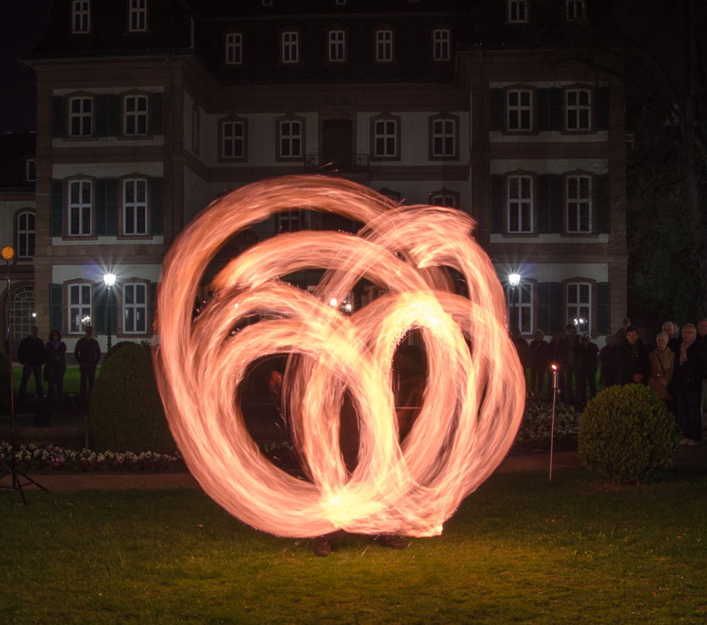 Feuershow bei der Luminale 2014 - 6