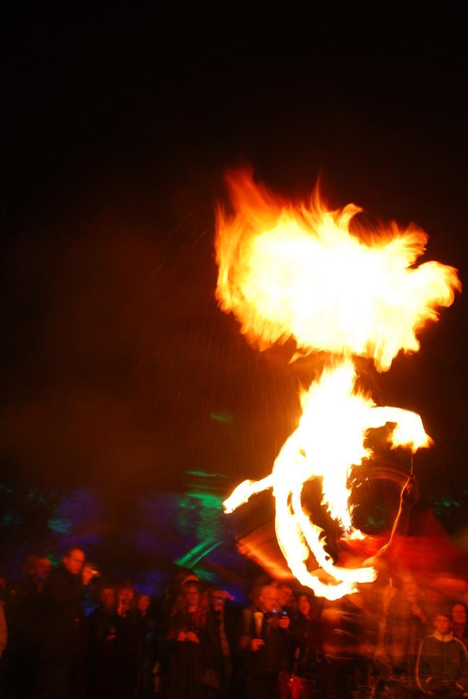 Feuershow (Hohenlimburg, Walpurgisnacht)
