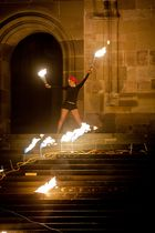 """Feuershow von -Das erste Element"""" #2"""