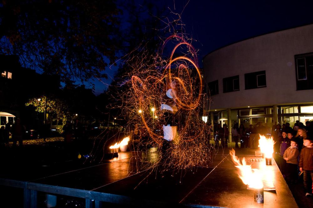Feuerspuren 2009 in Gröpelingen