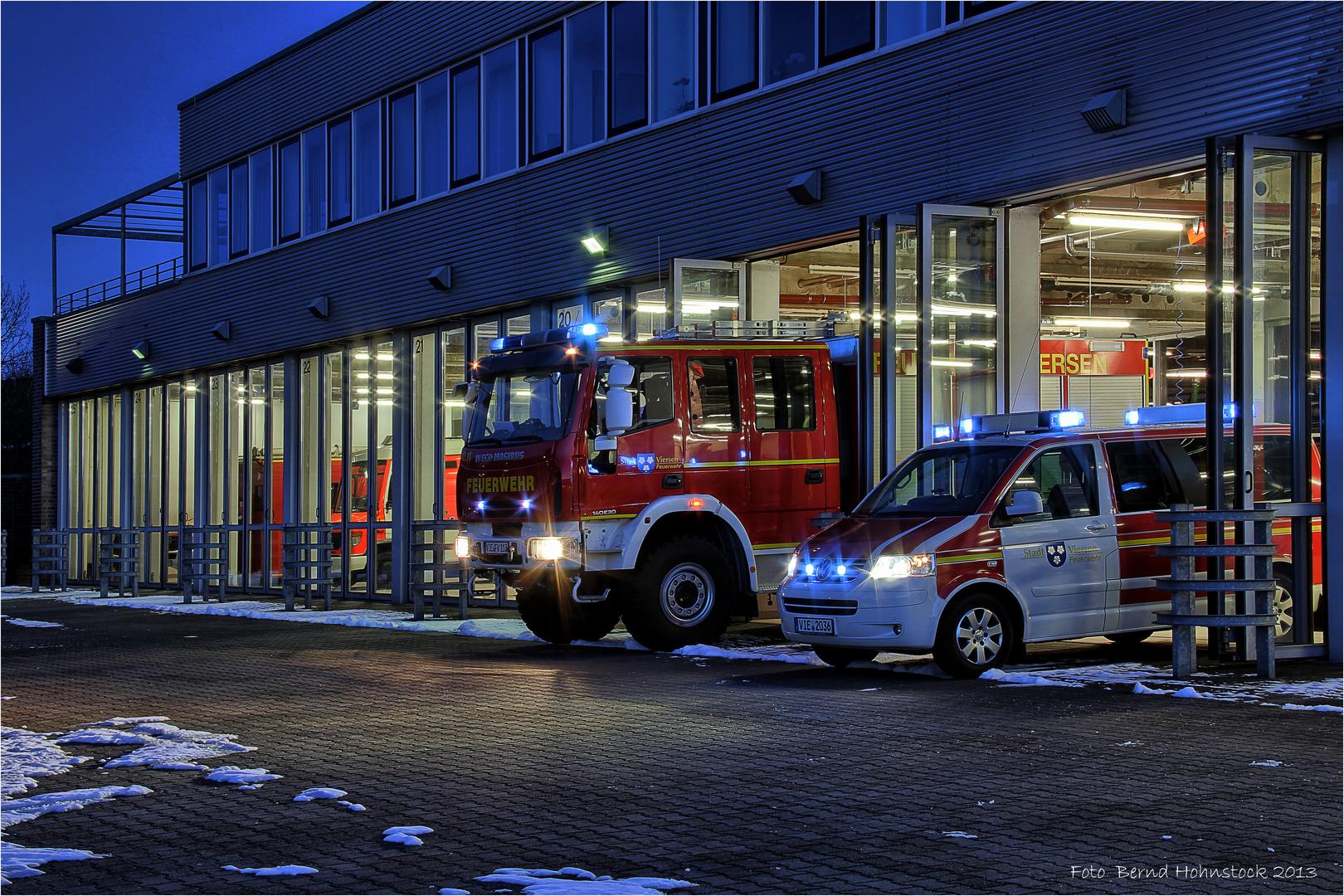 Feuerwehr .... Alarmfahrt