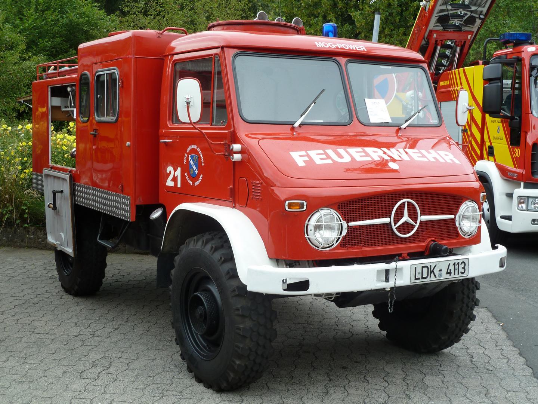 Feuerwehr - Alter Unimog