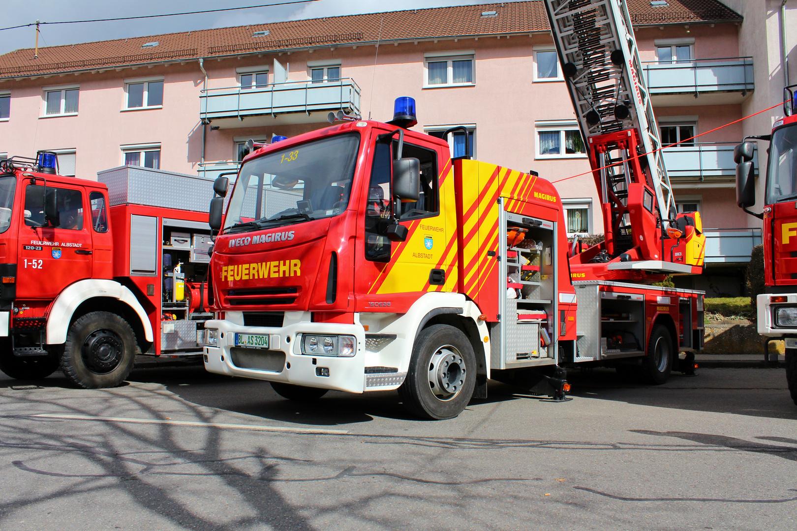 Feuerwehr auf dem Frühlingsfest in Albstadt!