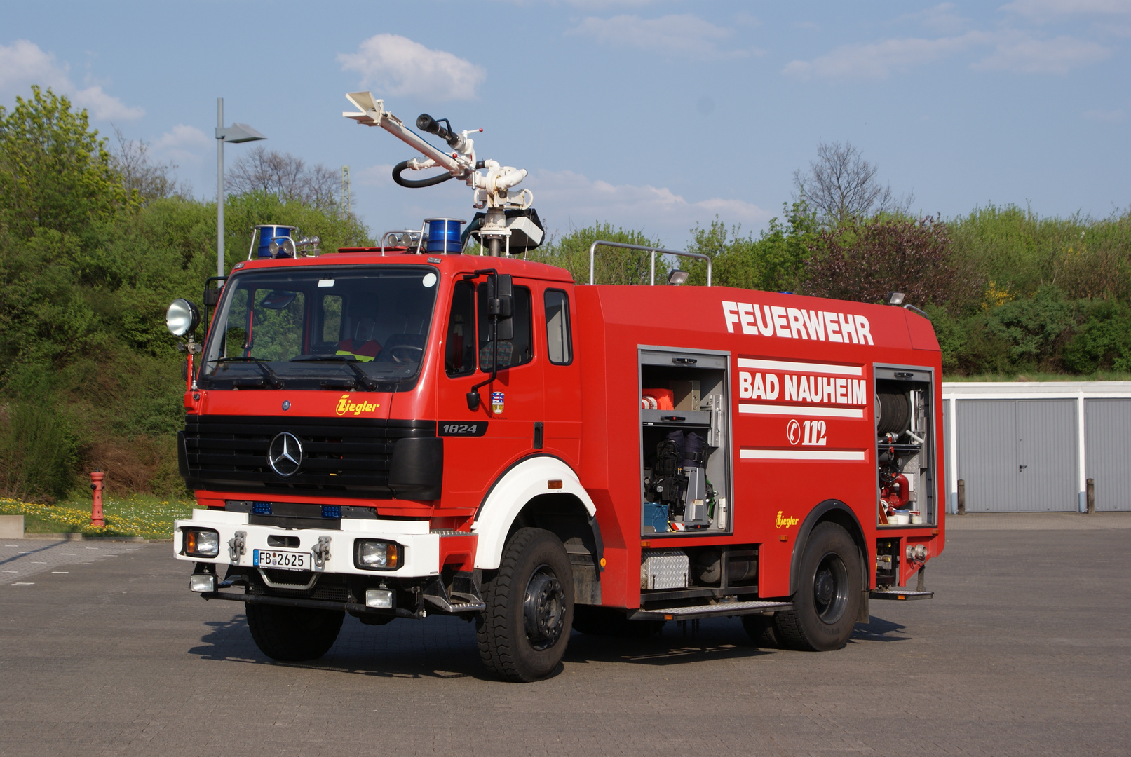 Feuerwehr ein bisschen anderst .