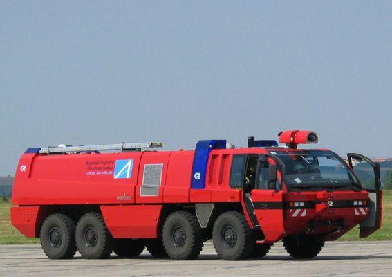 Feuerwehr - Flugplatz Altenburg Nobitz