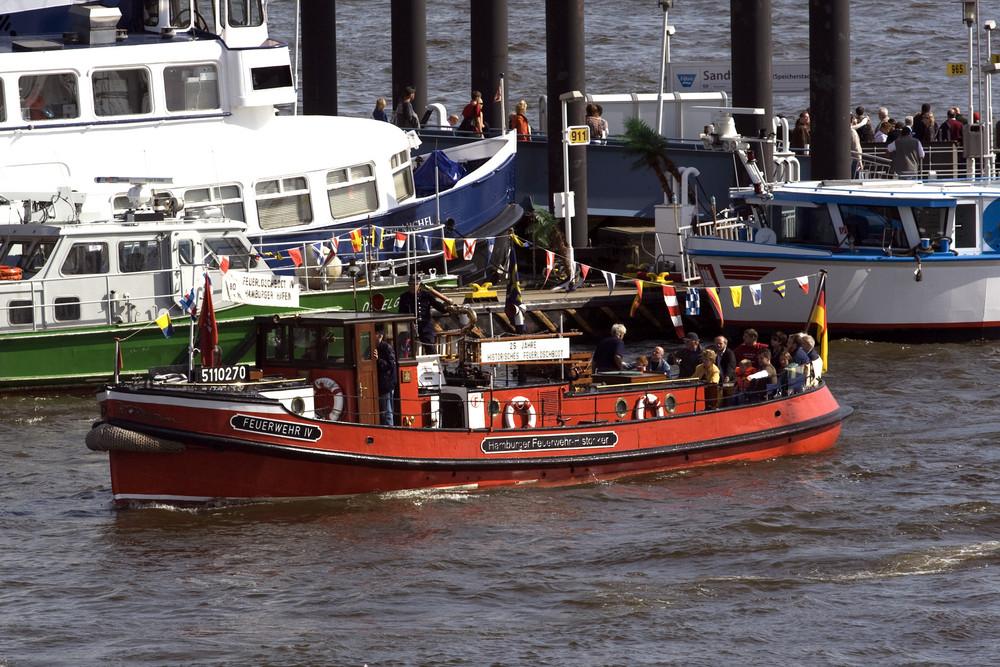 Feuerwehr Hafengeburtstag Hamburg 2009