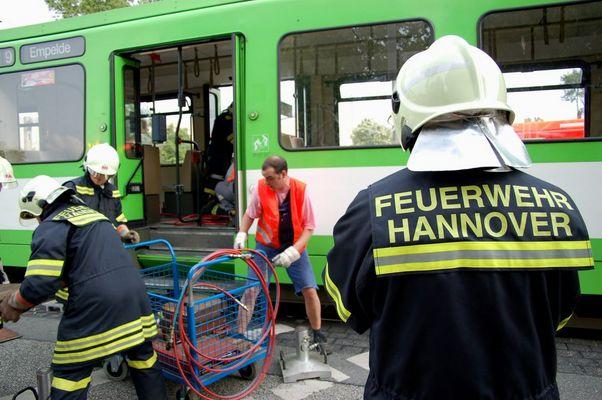 Feuerwehr Hannover im Einsatz