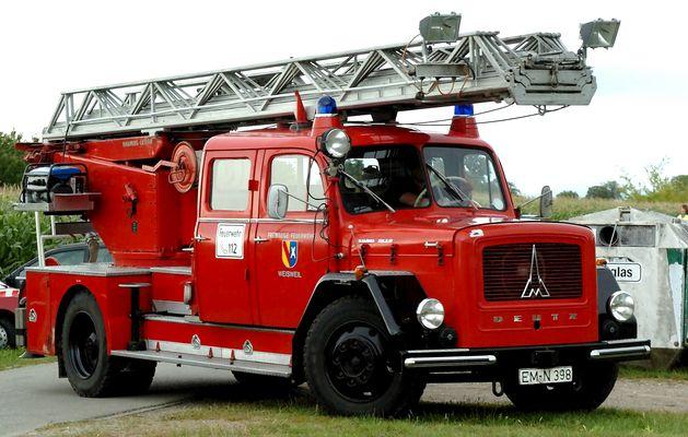 Feuerwehr Magirus - Deutz Drehleiterfahrzeug