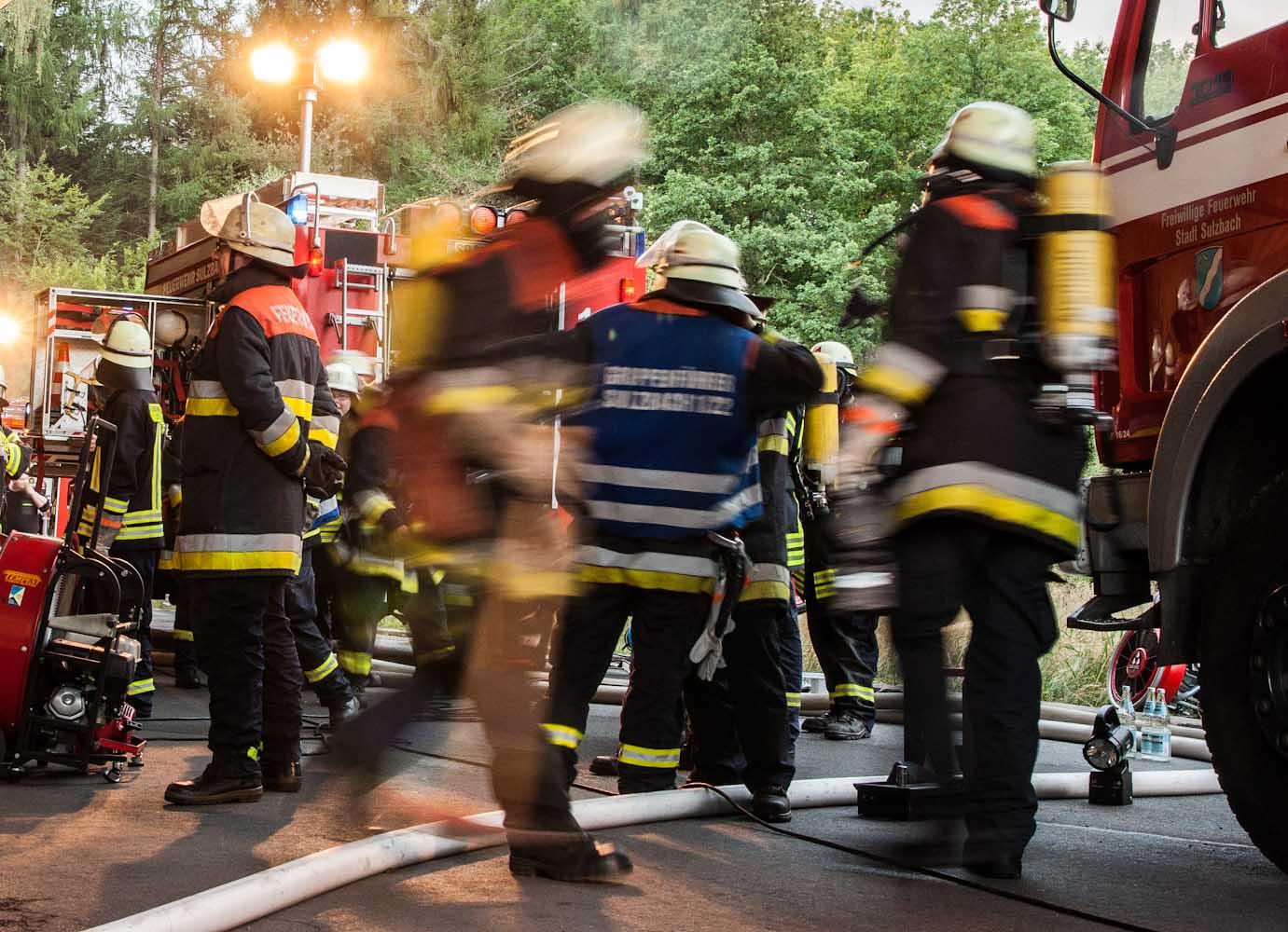 Feuerwehr Sulzbach Hier geht es rund