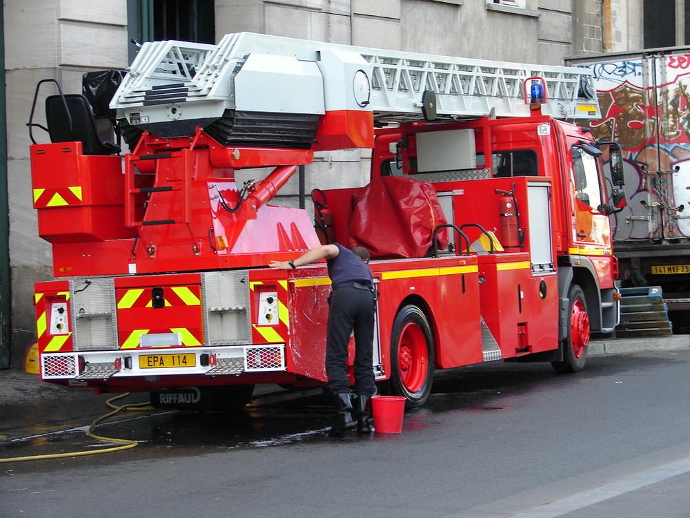 Feuerwehr von Paris