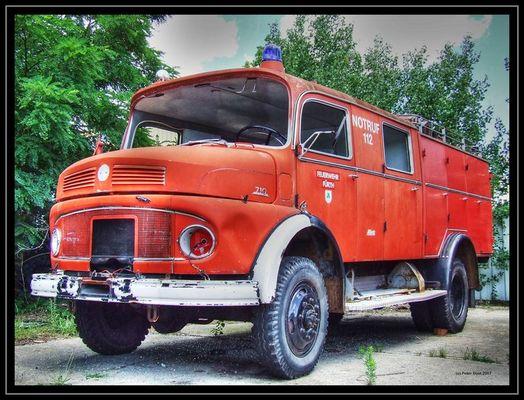 Feuerwehrauto HDR