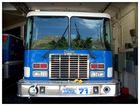 Feuerwehrauto in Blau