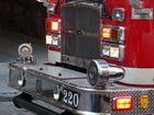 Feuerwehrauto in Montreal Canada