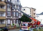 Feuerwehreinsatz in der Goethestraße