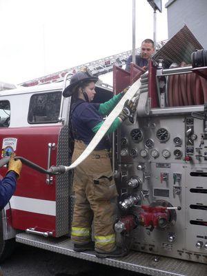 Feuerwehrmädchen