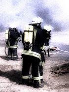Feuerwehrmänner ...