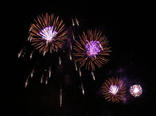 Feuerwerk - 1. August in Basel