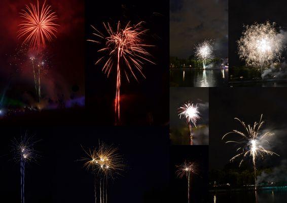 Feuerwerk (1. Versuch mit DSLR)