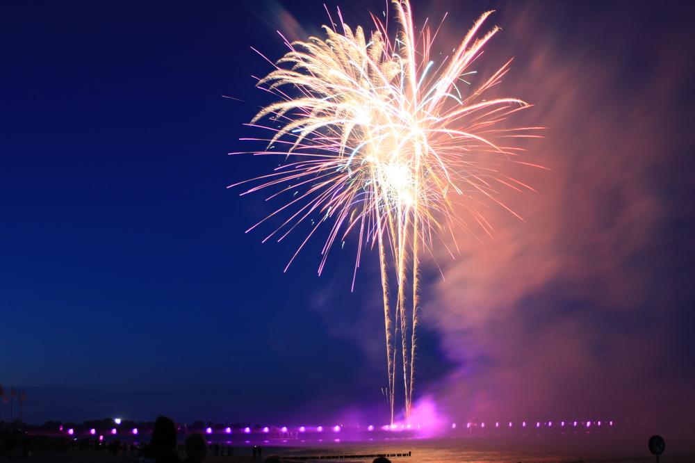 Feuerwerk, 2. Versuch