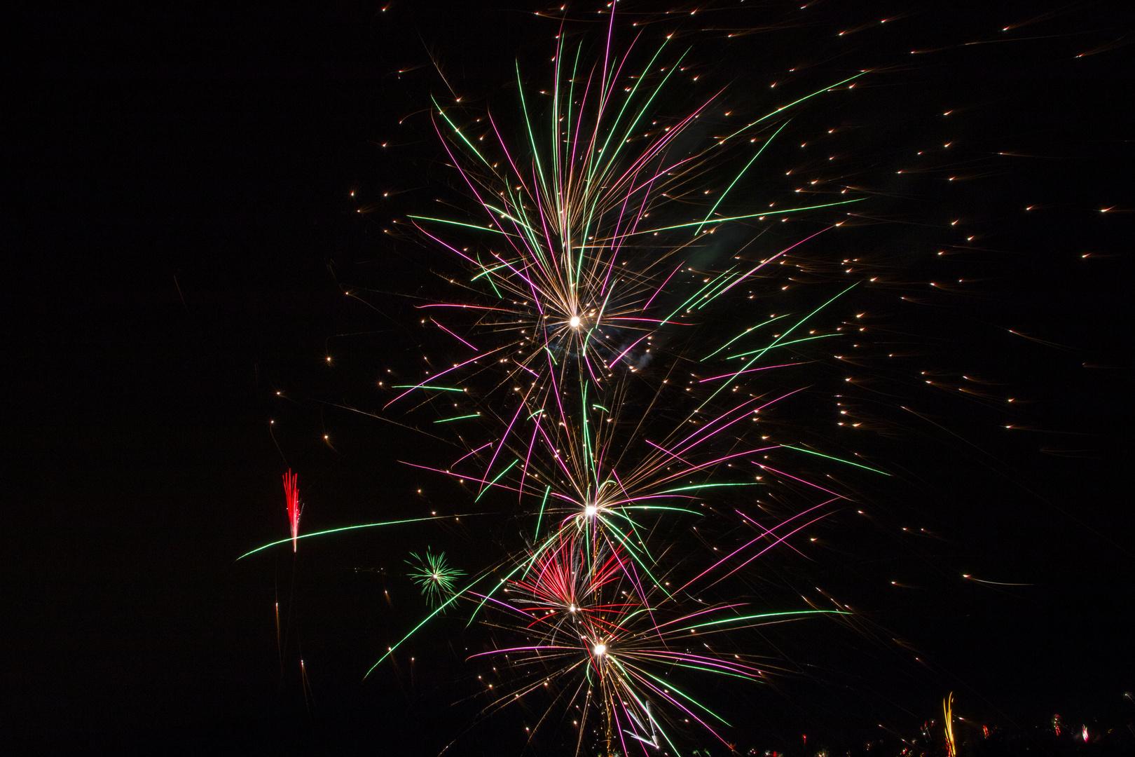 Feuerwerk 2014 in Köln