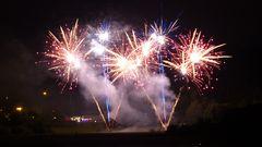 Feuerwerk (50 Jahre Talsperre Pöhl)