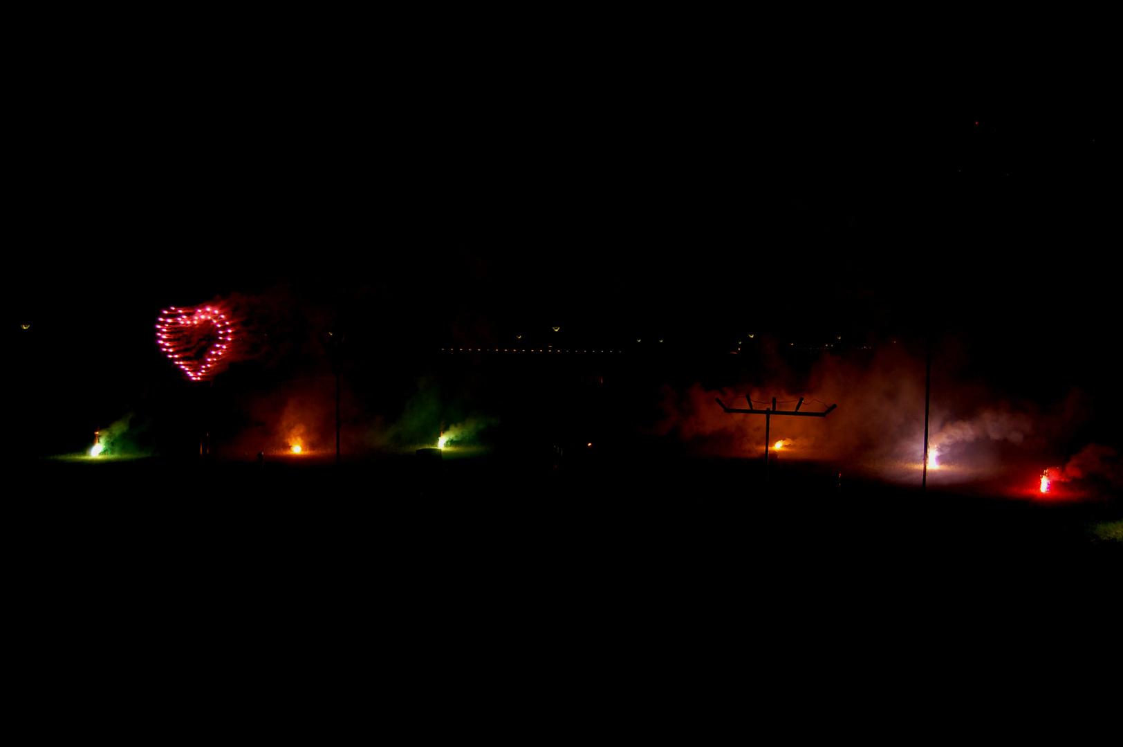 Feuerwerk !