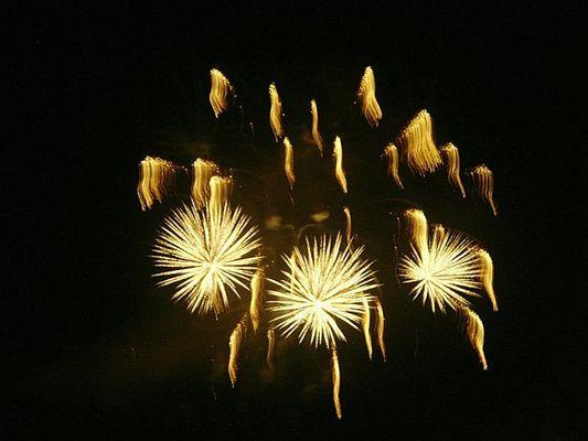 Feuerwerk....
