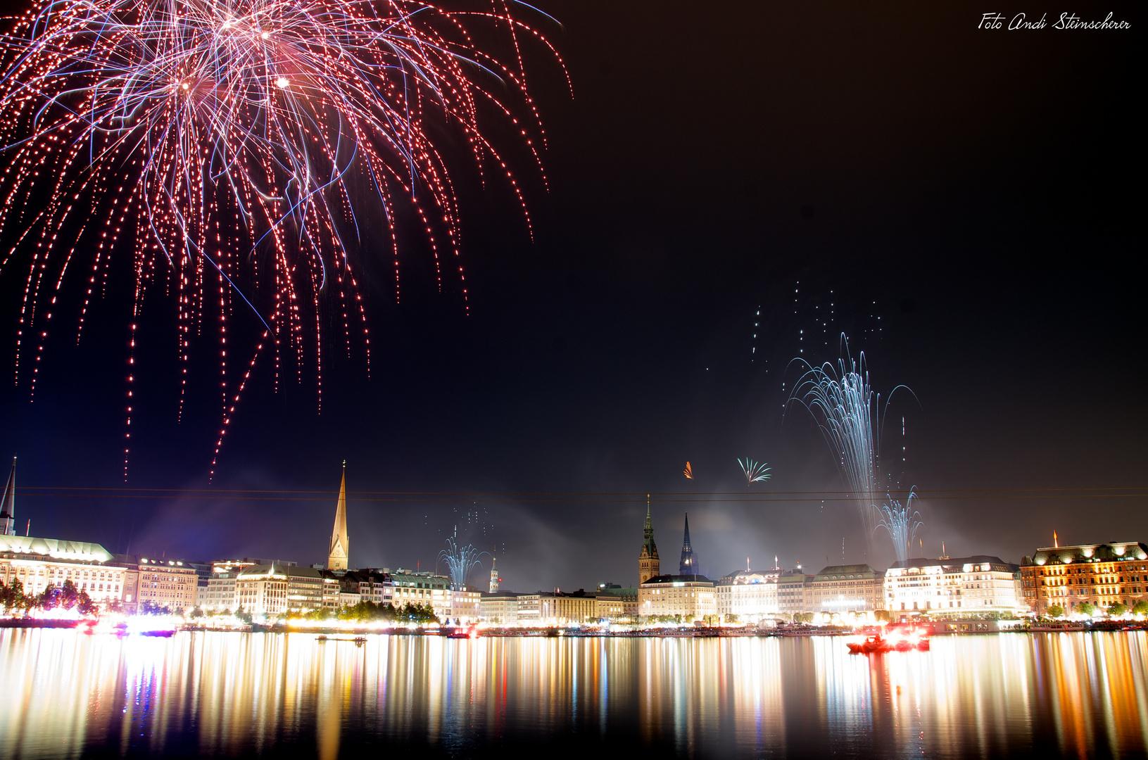 Feuerwerk Alstervergnügen 2012