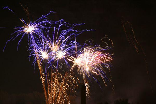 Feuerwerk am 21.09.2008 Rositz