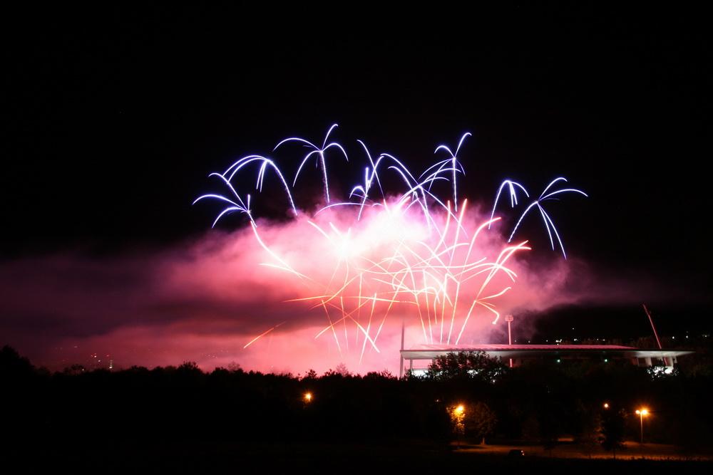 Feuerwerk am Classic-Open-Air 2009 Reutlingen #2
