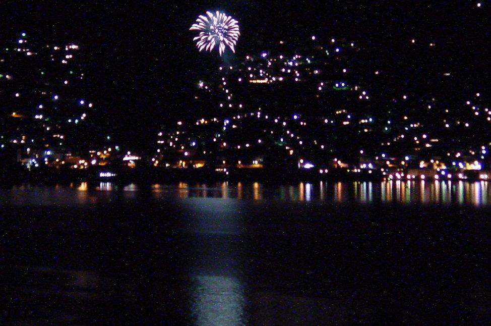 Feuerwerk am Lago Maggiore