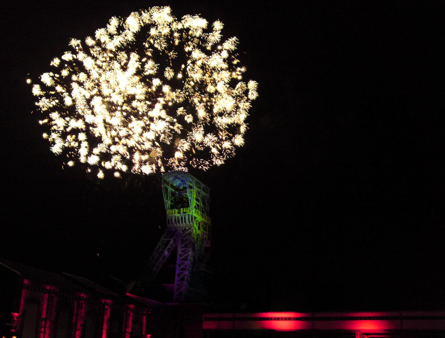 Feuerwerk am Pütt