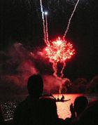 Feuerwerk am See 2