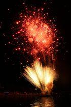 Feuerwerk auf dem Main (museumsuferfest)